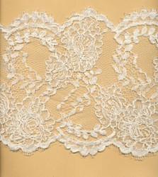 Dentelle de Calais robe de mariée