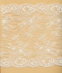 Rigid Calais lace