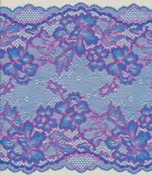 Jacquartronic elastic lace