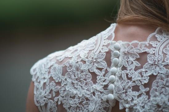 Dentelles pour robe de mariée